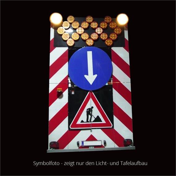 Warning light trailer - standard