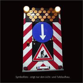 Warning light trailers