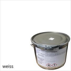 BASCO®dur HM blanco en un contenedor de 4 kg