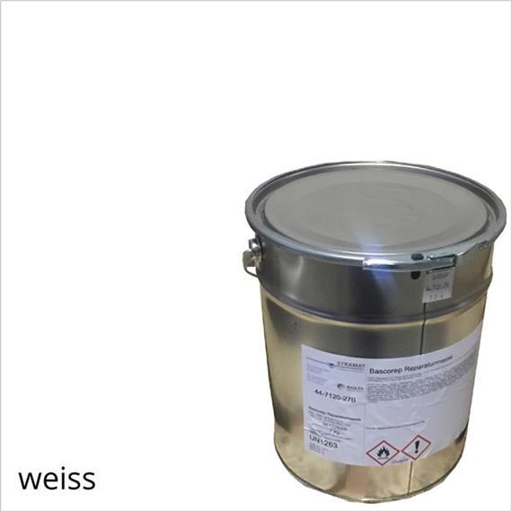 BASCO®plast BA blanco táctil en un contenedor de 14 kg