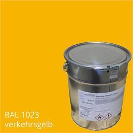 Bascoplast fino BA 10 amarillo en un contenedor de 14 kg