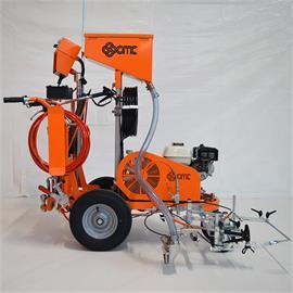 CMC AR 30 Pro-P-Auto - Máquina de señalización vial sin aire con bomba de pistón 6,17 L/Min