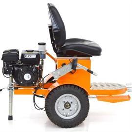 CMC - Vagoneta de tracción HMC con accionamiento hidráulico para secadoras y máquinas de marcado de carreteras