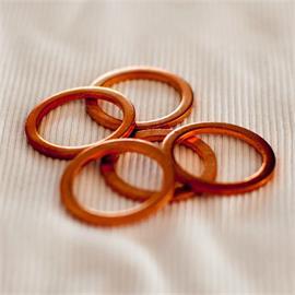 disco de cobre 1/2 '' 21 x 27 x 1.5)
