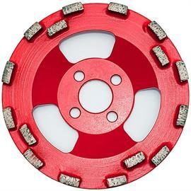 Disco de diamante de 125 mm con 16 segmentos