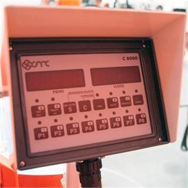 El autómata de la línea de separación C8000