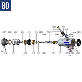 Kit de reparación completo para los Mod. 80 y 90