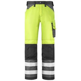 Pantalones HV naranja cl. 2, talla 42.