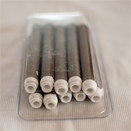 Pistolas de pintura Pistolas de pintura de 50 mallas con filtro enchufable (blanco)