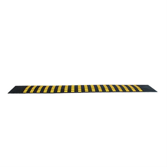 Safety-Rider Mini negro - rayas amarillas