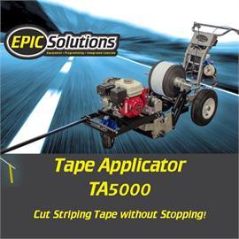 TA5000 Máquina de colocación de papel de aluminio