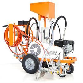 CMC AR 30 Pro-2C - 2 membraanpumbaga 5,9 l/min ja Honda mootoriga õhuvaba teekattemärgistusmasin.
