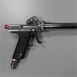 Käsitsi pihustuspüstoli pikendus ( 40 cm) ja 7 meetri pikkune värvivoolik