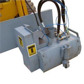 TR 600 I piiritlevad kinnitusrakendused hüdrauliline künnispinker