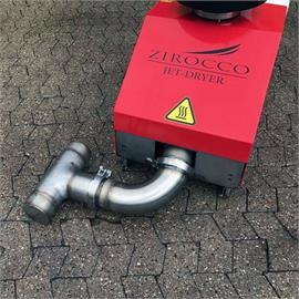 ATT Zirocco M 100 - halkeamien kuivauslaite tien halkeamien kunnostukseen