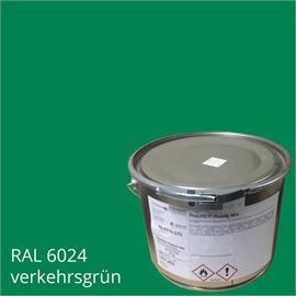 BASCO®dur HM liikennevihreä 4 kg:n pakkauksessa.