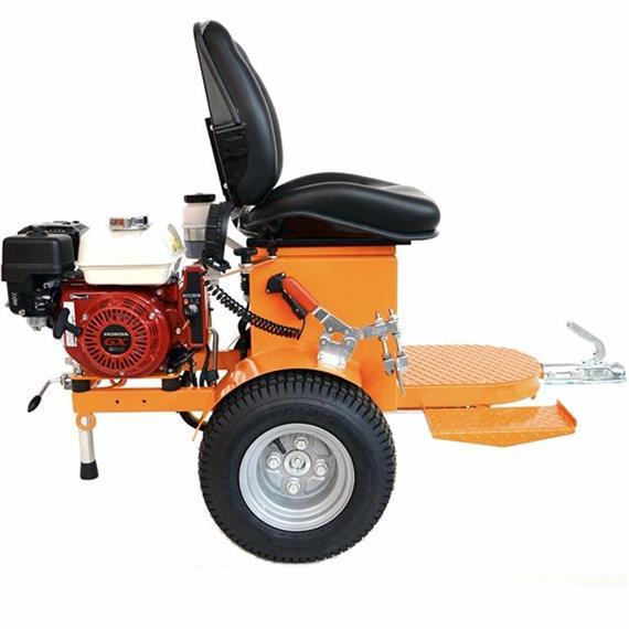 CMC - HMC-ajovaunu hydraulisella voimansiirrolla tiekuivaus- ja tiemerkintäkoneisiin.