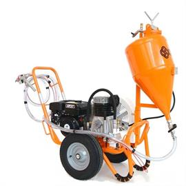 CPm2 Airspray stand alone -ruiskutuslaite helmiäisille ja täyteaineille.