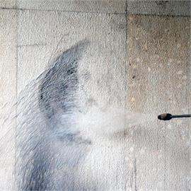 Graffitien poisto