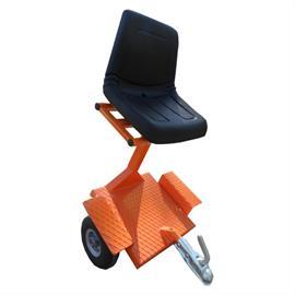 Perävaunu istuimella