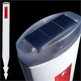 Solar Vision 05:n muovipylväät