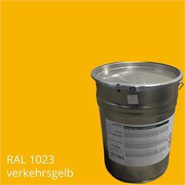 BASCO®paint M44 jaune trafic dans un conteneur de 25 kg