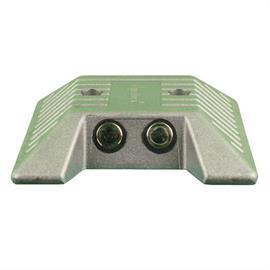 Bouton de marqueur en aluminium