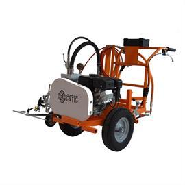 CMC AR 30 Pro-G H - Machine de marquage routier airless inversée avec pompe à membrane 5,9 L/min avec Hondamotor