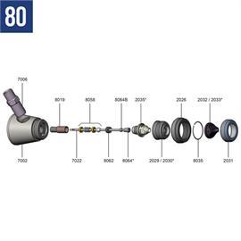 Connexion matérielle en acier inoxydable