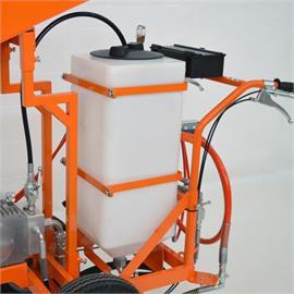 Réservoir de peinture en plastique de 50 litres