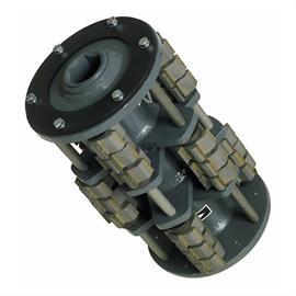 Tambour avec lames d'épluchage d'environ 42 x 22 mm adapté à Von Arx VA 25 S