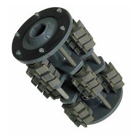Tambour avec lames d'épluchage d'environ 57 x 19 mm adapté à Von Arx VA 25 S