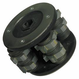 Tambour avec lames d'épluchage de 11 mm de large adapté au SF 60