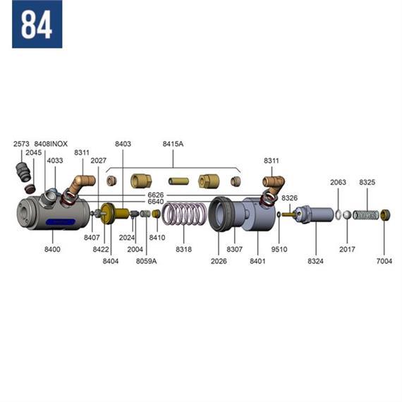 Holder for valve