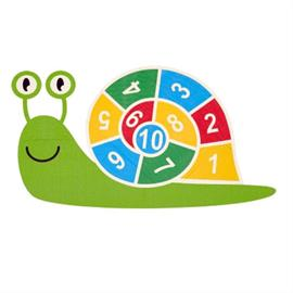 Marcatura del parco giochi MeltMark - Snigel da 1 a 10