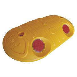 Pulsante indicatore giallo