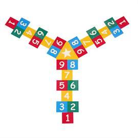 MeltMark žaidimų aikštelių ženklinimas - Triple Hage