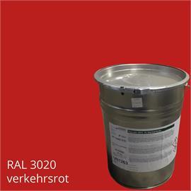 BASCO®krāsa M66 satiksmes sarkanā krāsā 22,5 kg konteinerā