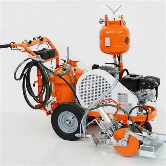 L 40 Marķēšanas iekārta ar gaisa smidzinātāju - ar rokas vadību