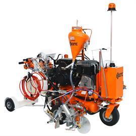 CMC ARL90-hybride - Wegmarkeringsmachine met hydraulische aandrijving - Airless en Airspray