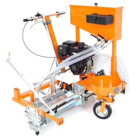 CMC PM 50 C-ST - Koude kunststof markeermachine met riemaandrijving voor agglomeratiemarkeringen