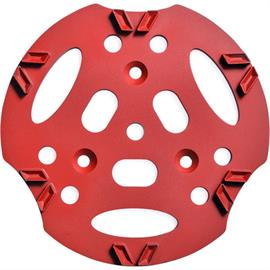 Diamantschijf 300 mm V12 rood