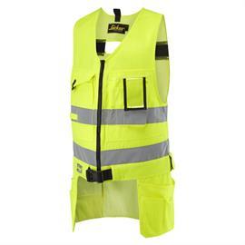 HV gereedschapsvest Kl. 2, geel, maat XL Regular