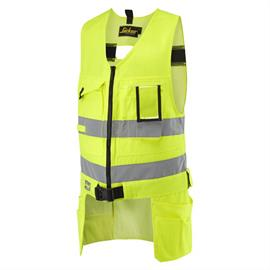 HV gereedschapsvest Kl. 2, geel, maat XS Regular