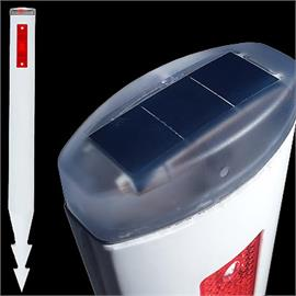 Kunststof palen voor Solar Vision 05