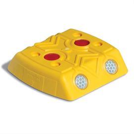 Markeringsknop geel