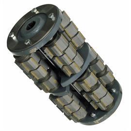 Trommel met schilmesjes 22 mm breed geschikt voor Von Arx FR 200