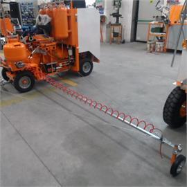 Zijdelingse bevestiging voor voormarkering met 26 liter druktank