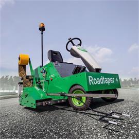 Automatyczna maszyna do układania folii Road Taper Plus