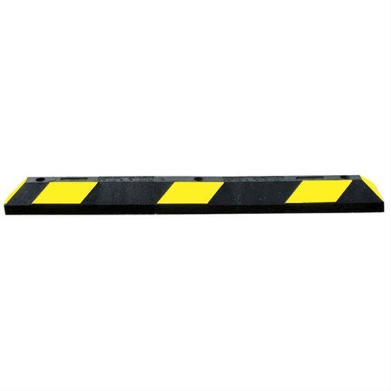 Park-It czarny 120 cm - żółte paski